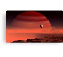 Hell's Forge Canvas Print