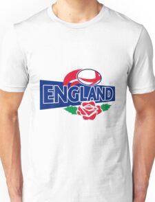 England Rugby Ball English Rose Unisex T-Shirt