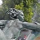 Mermaid - Trafalgar Square by Chris Monks