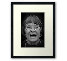 Portrait of a Friend Framed Print