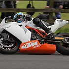 Adam Child - KTM 1190 RC8R Track debut by Nick Barker