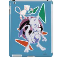 Pokemon Mew & Mewtwo iPad Case/Skin