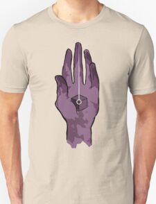 worlds hand, cartoon style!! (i guess) Unisex T-Shirt