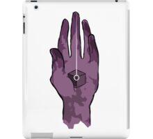 worlds hand, cartoon style!! (i guess) iPad Case/Skin