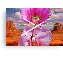 Chingasso Rosa X Canvas Print