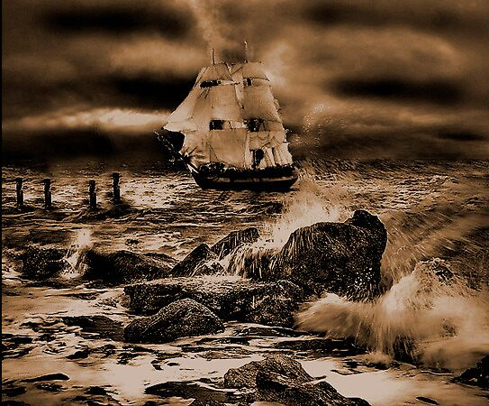 Sail the seven seas by Andrew (ark photograhy art)