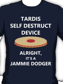 TARDIS self destruct? T-Shirt
