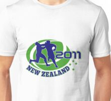 rugby player running ball tackled new zealand 2011 Unisex T-Shirt