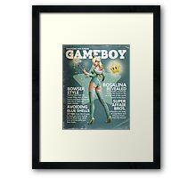 Gameboy: Rosalina Framed Print