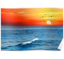 Vero Beach Sunrise Poster