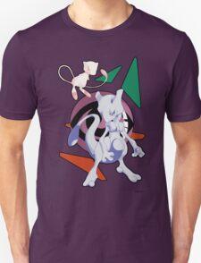 Pokemon Mew & Mewtwo T-Shirt
