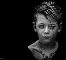 Another day, another boy who's tattoos are temporary but whose love for darkness and the macabre is likely to last a while longer. by alan shapiro