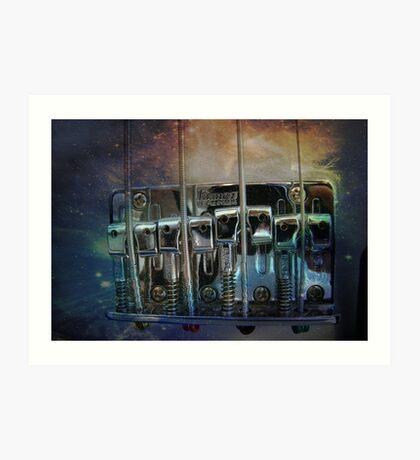 Groovy Bass~ Art Print