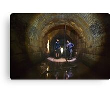 Looking out from The Pit of Acheron Canvas Print