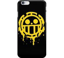 Heart pirates trafalgar law one piece iPhone Case/Skin