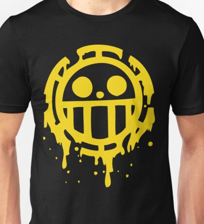 Heart pirates trafalgar law one piece Unisex T-Shirt