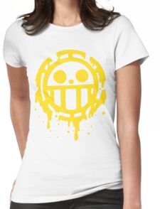 Heart pirates trafalgar law one piece Womens Fitted T-Shirt