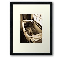 Macabre Dolly Framed Print