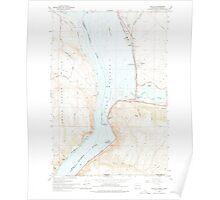 USGS Topo Map Washington Wallula 244520 1964 24000 Poster