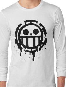 Heart pirates trafalgar law one piece 2 Long Sleeve T-Shirt