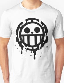 Heart pirates trafalgar law one piece 2 Unisex T-Shirt