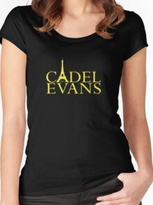 Cadel Evans - 2011 Women's Fitted Scoop T-Shirt