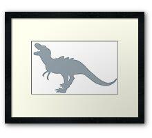 Tyrannosaurus Rex Dinosaur Framed Print
