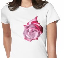 Rose of Pinks Womens Fitted T-Shirt