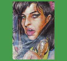 AMY WINEHOUSE TEEZ by Aestheticz .