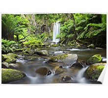 Hopetoun Falls, Otways, Great Ocean Road, Victoria, Australia Poster