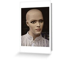 NY Mannequin Series #6: Yvette, A Lost Beauty Greeting Card
