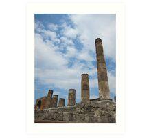 Pompeii, Italy Art Print