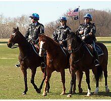 Washington DC Park Police Photographic Print