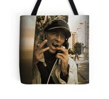 Please, don't hang up the phone!!! Tote Bag