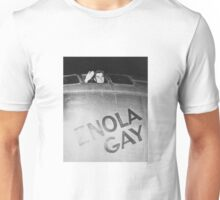 Paul Tibbets In The Enola Gay Bomber Unisex T-Shirt