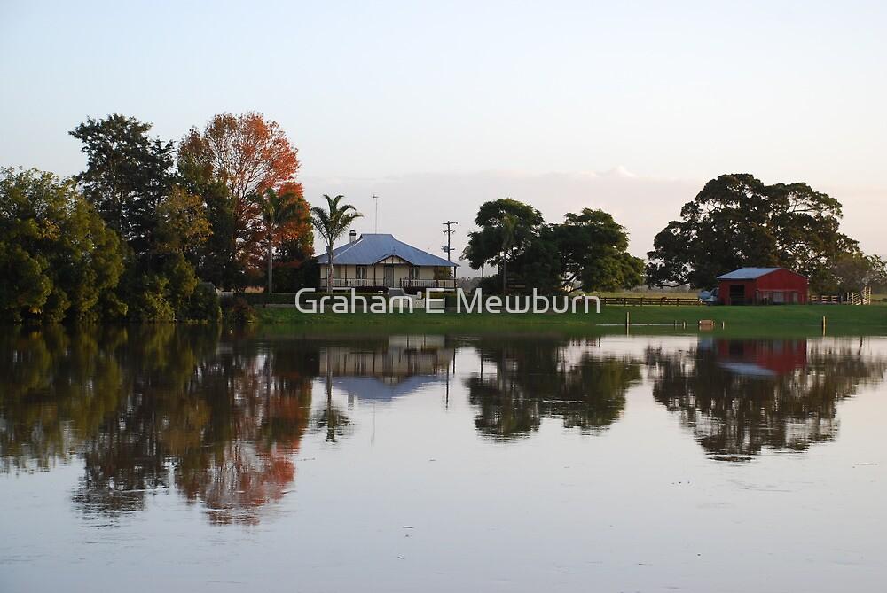 Dumaresque Island Reflections by Graham E Mewburn