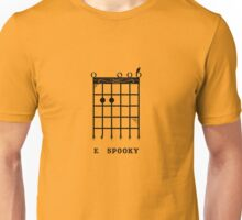 E Spooky (Black) Unisex T-Shirt