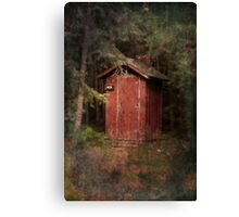 Mead Creek Outhouse Canvas Print