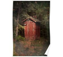 Mead Creek Outhouse Poster