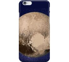 Pluto Painted iPhone Case/Skin