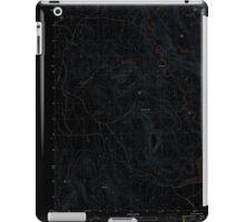 USGS Topo Map Oregon Upton Mountain 20110831 TM Inverted iPad Case/Skin