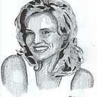 Geena Davis by WienArtist