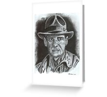 Harrison Ford Greeting Card