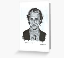 Matthew Macconaughey Greeting Card