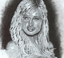Paris Hilton by WienArtist