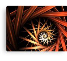 Torrent Abstract Fractal Art Canvas Print