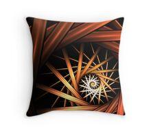 Torrent Abstract Fractal Art Throw Pillow