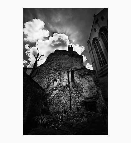 Dark Abbey Photographic Print