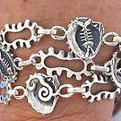 3 bracelets by betty porteus