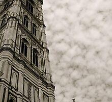 Il Campanile di Giotto - Piazza del Duomo in Florence by Nick Rocco